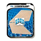 Clear Streetbike Volcano Traction Pad Kit - 55-10-0062
