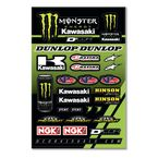 Monster Kawasaki Decal Sheet  - 40-20-117
