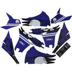 Yamaha Metal Mulisha Shroud Graphic Kit - 23-11232