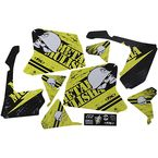 Suzuki Metal Mulisha Shroud Graphic Kit - 23-11432