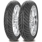 Rear AM26 Roadrider 4.00V-18 Blackwall Tire - 90000000671