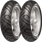 Front/Rear Zippy 1 130/70-12 Blackwall Scooter Tire - TCZ1307012
