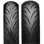 Rear SS540 120/70L-12 Blackwall Tire - T10282