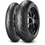 Rear Diablo Rosso II 180/55ZR-17 Blackwall Tire - 2068500