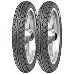 Front Mandrake MT 15 110/80J-14 Blackwall Tire - 1002400