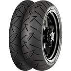 Front Conti Road Attack 2 EVO 110/80VR-19 Blackwall Tire - 02443660000