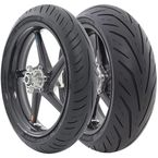 Front AV65 Storm 3D X-M 120/70ZR-18 Blackwall Tire - 90000020787