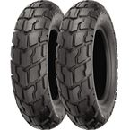 Front SR426 120/90-10 Blackwall Tire - 87-4190