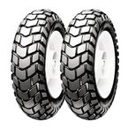 Front/Rear SL60 Dual Purpose 130/80-12 Blackwall Scooter Tire - 800100