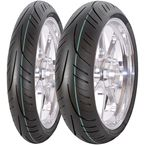 Front AM83 StreetRunner 2.75-17 Blackwall Tire - 8180017