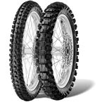 Rear Scorpion MX32 Mid-Hard 100/90-19 Tire  - 3107400