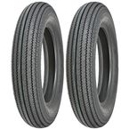 Front/Rear 270 Super Classic 4.00-18 Wide White Sidewall Tire - 87-4626