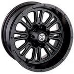 Black Rear 339X 12x8 Wheel - 0230-0918