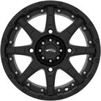 Black Roll'N 105 15x7 Cast Aluminum Wheel - 5706-046AS