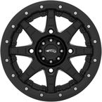 Black Roll'N 106 14 x 7 Beadlock Wheel - 4754-046AS