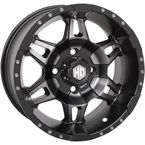 Matte Black Rear Mega HD7 Wheel - 14HD717