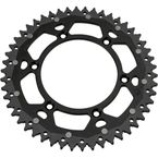 50 Tooth Black Dual Rear Sprocket - 1210-1466
