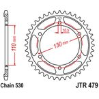 42 Tooth Rear Steel Sprocket For 530 Chain - JTR479.42