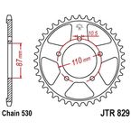 43 Tooth Rear Steel Sprocket For 530 Chain - JTR82943