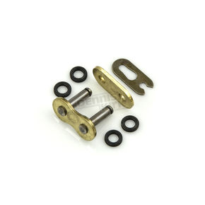 Factory Spec Gold 520 X-Ring Clip Connecting Link - FS-520X-GML