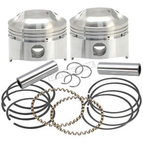 S&S Cycle Forged Low Compression Piston Kit (.030