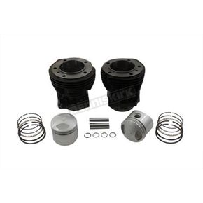 V-Twin Manufacturing Black Cylinder and Piston Kit - 11-2612