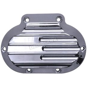 Covingtons Customs Chrome Finned Transmission Side Cover - 1360-C