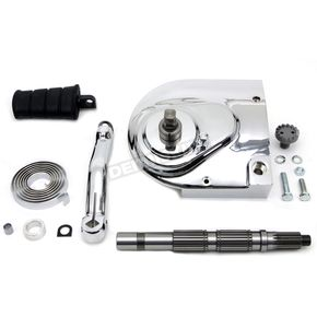 V-Twin Manufacturing Chrome Kick Starter Conversion Kit - 22-0218