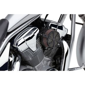 Cobra Black Swept Air Cleaner Kit  - 06-0267-01B