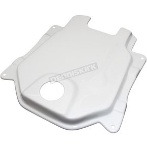 NCY White Fiberglass Gas Tank Cover - 0200-0005