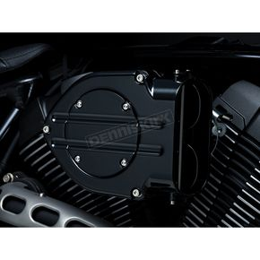 Kuryakyn Gloss Black Standard Hypercharger Air Cleaner Kit - 9428