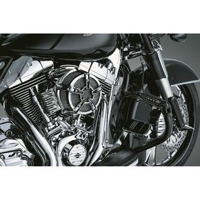 Kuryakyn Chrome Mach 2 CO-AX Air Cleaner - 9566