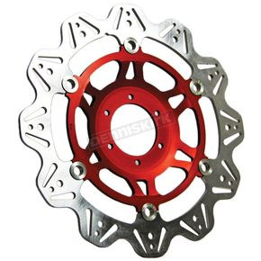 EBC Front Red Vee Brake Rotor - VR669RED