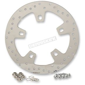 Drag Specialties Front 11.8 in. Polished Stainless Steel Brake Rotor - 1710-2403