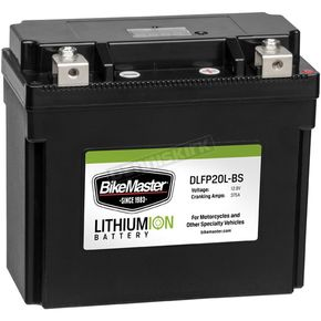 BikeMaster Lithium Ion Battery - DLFP-20L-BS