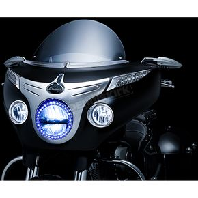 Kuryakyn Driving Light Bezels for Indian Chieftain - 5622