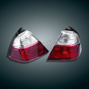 Show Chrome Saddlebag Lights - 52-777