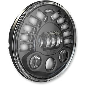J.W. Speaker Black Model 8791 7 in. Pedestal Mount LED Headlight - 0553441