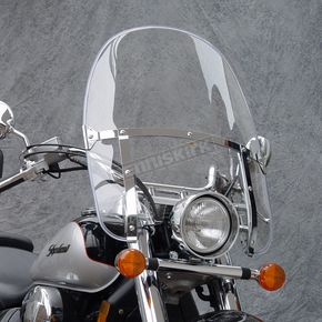 National Cycle 19 1/2 in. - 21 1/4 in. Heavy Duty Beaded Windshield - N2235