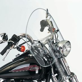 National Cycle 19 1/2 in. - 21 1/4 in. Heavy Duty Beaded Windshield - N2350
