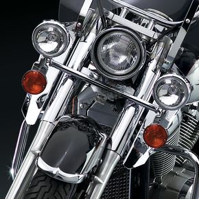 16 in. Chrome Switchblade Windshield Lowers - N76602