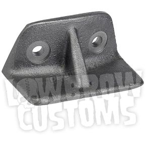 Gasbox Cast Steel Weld-On Rear Fender Bracket - 001941