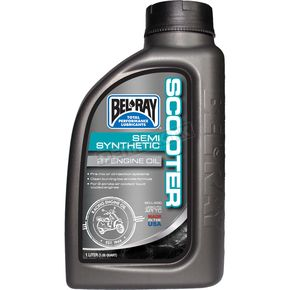 Bel Ray Scooter Semi-Synthetic 2T Engine Oil - 99420-B1LW