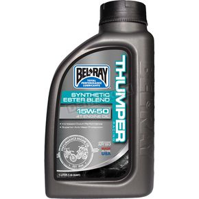 Bel-Ray Thumper Racing Synthetic Ester Blend 4T 15w50 Engine Oil - 99530-B1LW