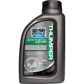 Bel Ray Works Thumper Racing Full-Synthetic Ester 4T Engine Oil  - 99550-B1LW