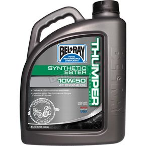 Bel-Ray Works Thumper Racing Full-Synthetic Ester 4T Engine Oil  - 99550-B4LW