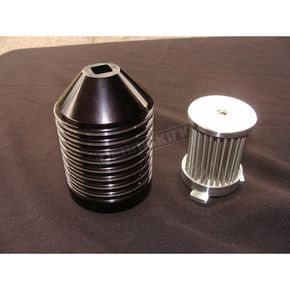 Speeds Performance Plus Black Re-Useable Oil Filter - SP-0010