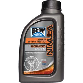 Bel-Ray 20W50 Semi-Synthetic Motor Oil - 96910-BT1