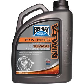 Bel Ray 10W50 V-Twin Synthetic Motor Oil  - 96915-BT4