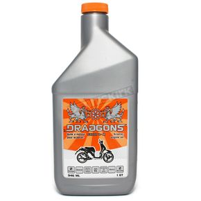 Draggons 2-Stroke Scoot 2 Mineral Based Scooter Oil - 1400-1076
